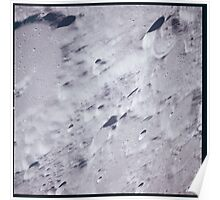 Apollo Archive 0050 Moon Craters from Orbit Poster