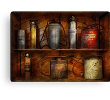 Fireman - Fire Control Canvas Print