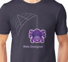 Cute Spider Web Designer Unisex T-Shirt