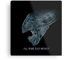 Xenomorph Queen Metal Print