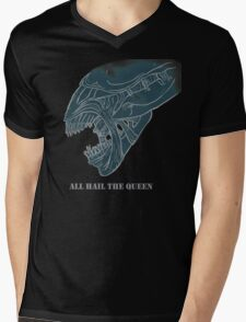 Xenomorph Queen Mens V-Neck T-Shirt