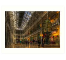 Edinburgh Museum  Art Print