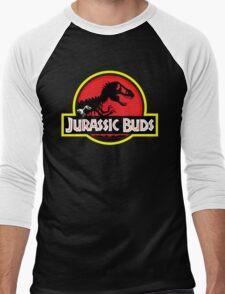 Jurassic Buds (red) Men's Baseball ¾ T-Shirt
