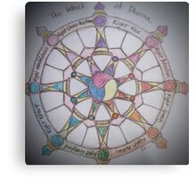 The Wheel of Dharma II Metal Print