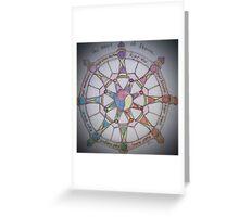 The Wheel of Dharma II Greeting Card