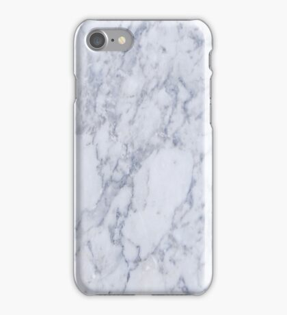White And Gray Marble Stone Pattern iPhone Case/Skin