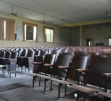 Auditorium in abandoned elementary school by ashley hutchinson