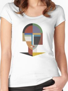 WOMAN AND WOMEN Women's Fitted Scoop T-Shirt