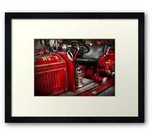 Fireman - Fire Engine No 3 Framed Print