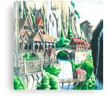 Rivendel Canvas Print