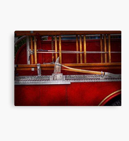 Fireman - Nice Axe  Canvas Print