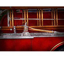 Fireman - Nice Axe  Photographic Print