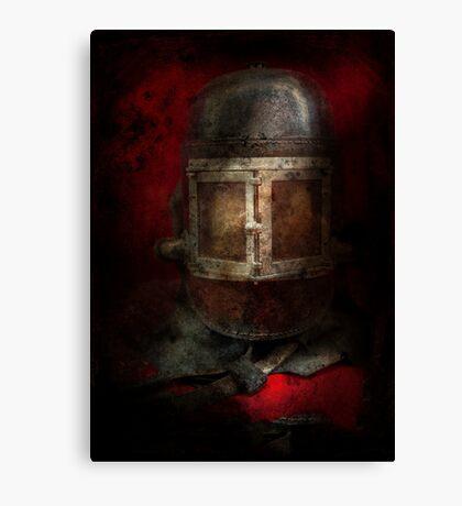 Fireman - The Mask Canvas Print