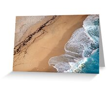 Lick the sand Greeting Card