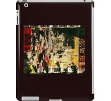 Poster Archaeology 5 iPad Case/Skin