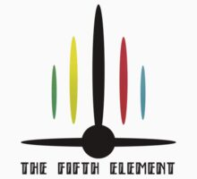 Fifth Element Colour Logo by Adam Angold