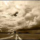 Monsoon Sky, Near Ingham FNQ by Susan Kelly