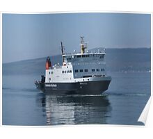 "Wemyss Bay To rothesay Ferry "" The Argyle"" Inverclyde , Scotland UK Poster"