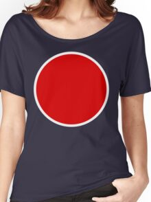 Imperial Japanese Navy / Army Airforce Insignia Women's Relaxed Fit T-Shirt