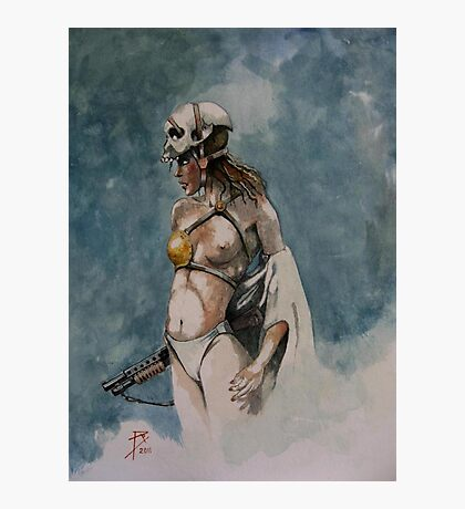 Scull Photographic Print