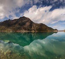 Turquoise Reflection by Stefan Trenker