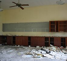 Abandoned Elementary School Classroom by ashley hutchinson