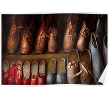 Shoemaker - Shoes worn in life Poster