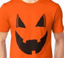 Evil Pumpkin Face  Unisex T-Shirt