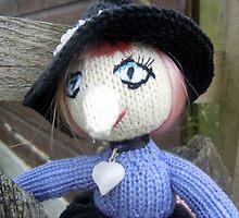 Knitted witch by jomash