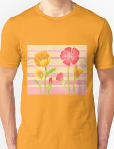 Happy Flower Bed T-Shirt