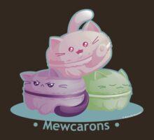Cute Kitty Cat Macarons by kimchikawaii