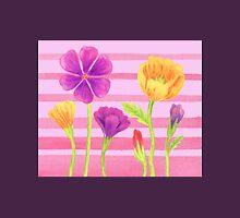 Happy Flowers In The Garden Unisex T-Shirt