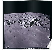 Apollo Archive 0145 Moon Craters from Orbit Poster