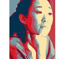 """Mama took my eyebrows"" - Christina Yang by lloydj3"
