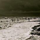 Beckfoot Beach by Lou Wilson