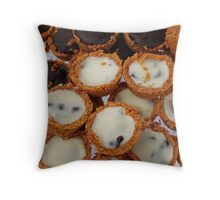Choc Pots Throw Pillow