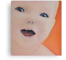 Baby Laugh Canvas Print