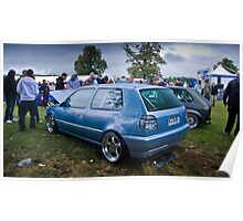 MK3 Golf VR6 - The Cover Star Poster