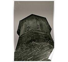 St Barnabas' Church Tower, Setmurthy. Poster