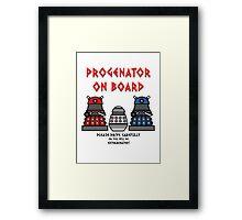 Prigenator Onboard Framed Print