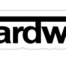 DJ Hardwell Official Logo Products! Sticker
