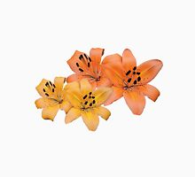 Gorgeous yellow and orange tiger lily flower photo art. T-Shirt