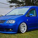 VW Caddy Van by Adam Kennedy