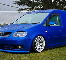 VW Caddy Van by Adam Kennedy