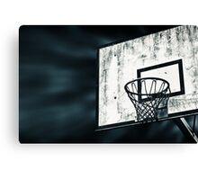 Street Basket Canvas Print