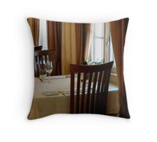 A Table for Two......  ^ Throw Pillow