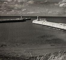 Whitby Pier by Neil Clarke