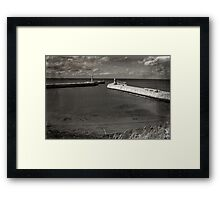 Whitby Pier Framed Print