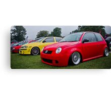 Lupo GTI On Air Canvas Print