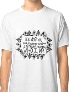 Imagine Dragons It's Time Lyric Classic T-Shirt